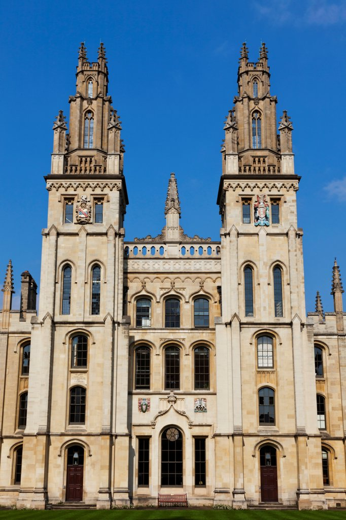 Stock Photo: 442-38171 England, Oxfordshire, Oxford, Oxford University, All Souls College