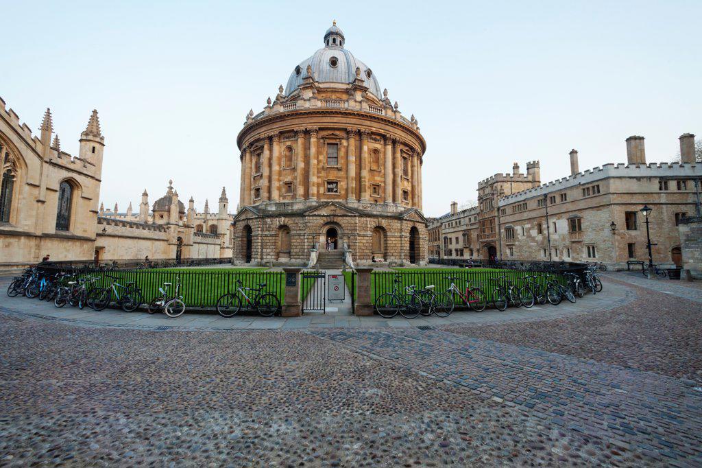 England, Oxfordshire, Oxford, Oxford University, Radcliffe Camera : Stock Photo