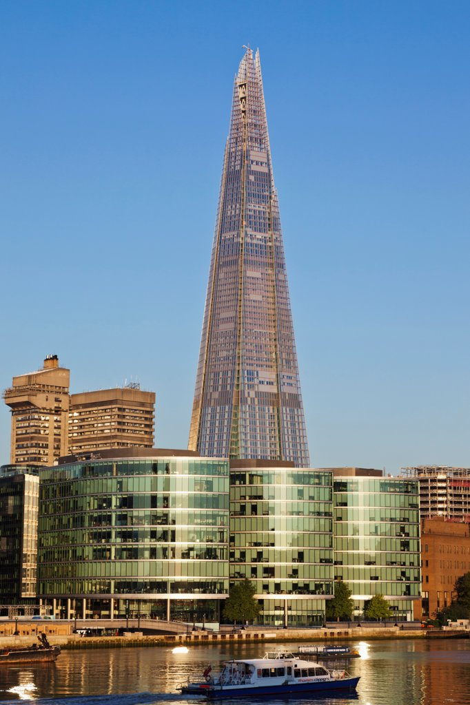 UK, London, Southwark, The Shard : Stock Photo