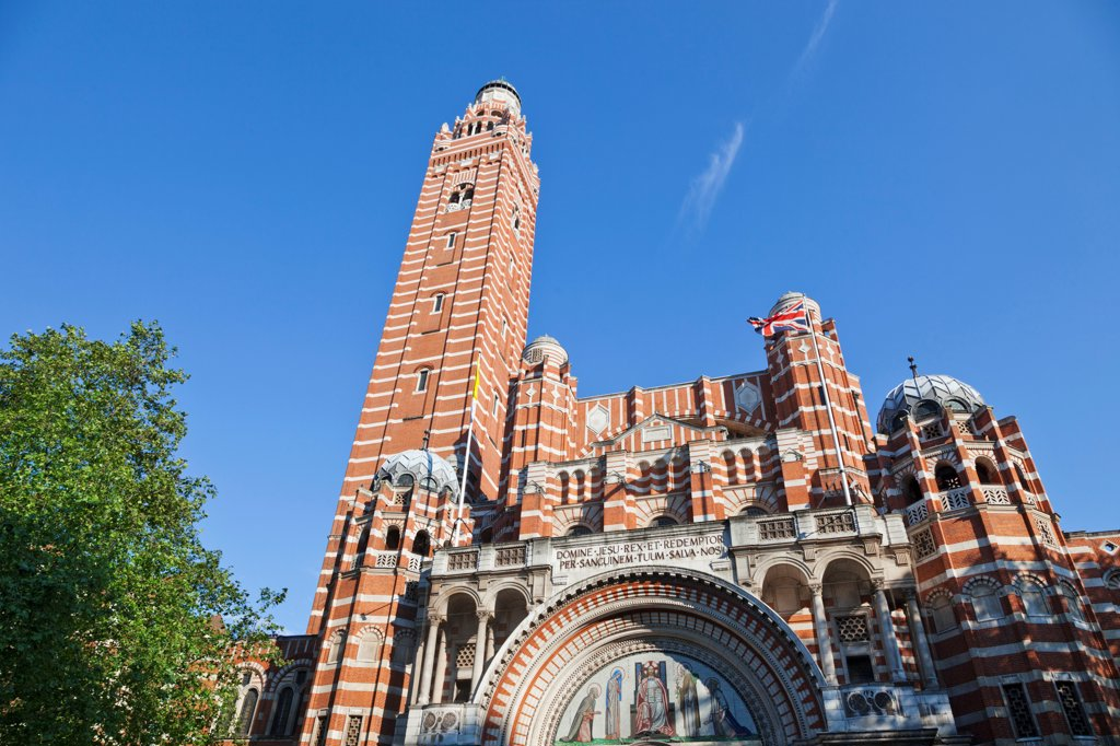 Stock Photo: 442-38248 UK, London, Westminster, Westminster Cathedral