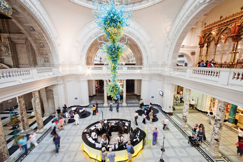 Stock Photo: 442-38304 UK, London, Kensington, Victoria and Albert Museum, The Grand Entrance