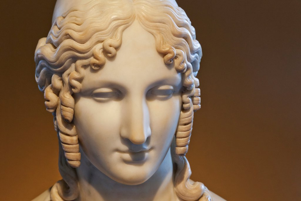 Stock Photo: 442-38305 Sculpture of Helen of Troy by Antonio Canova, 1812