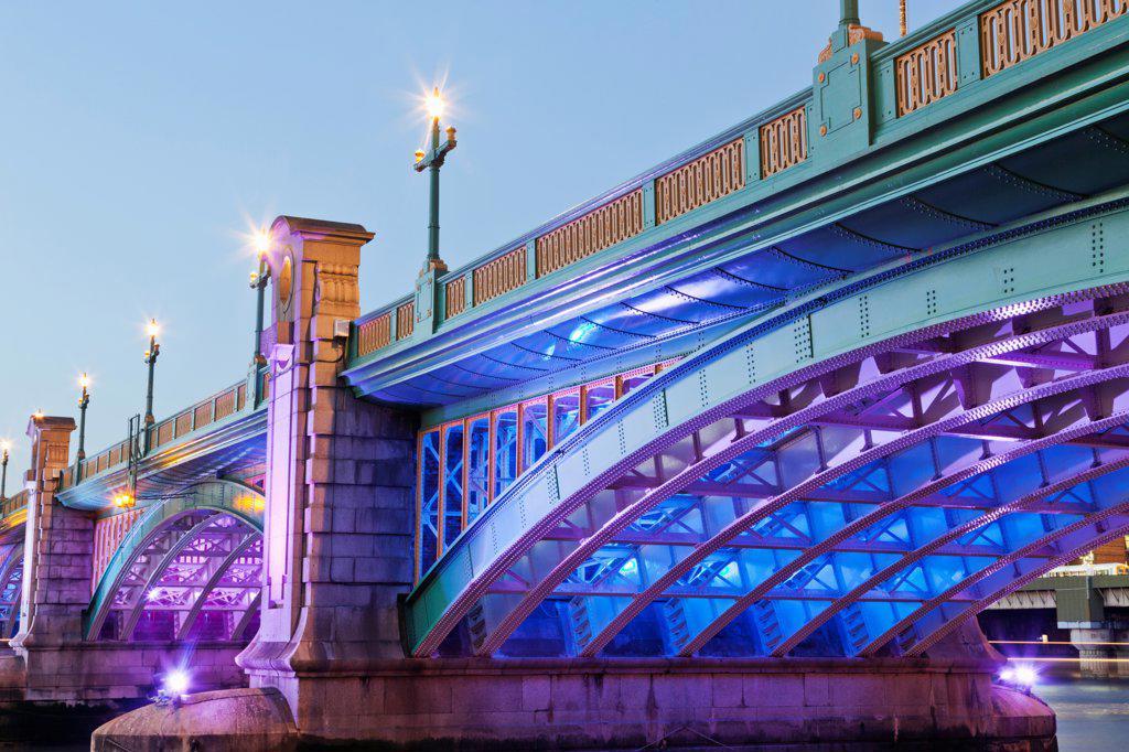 UK, London, Southwark Bridge : Stock Photo