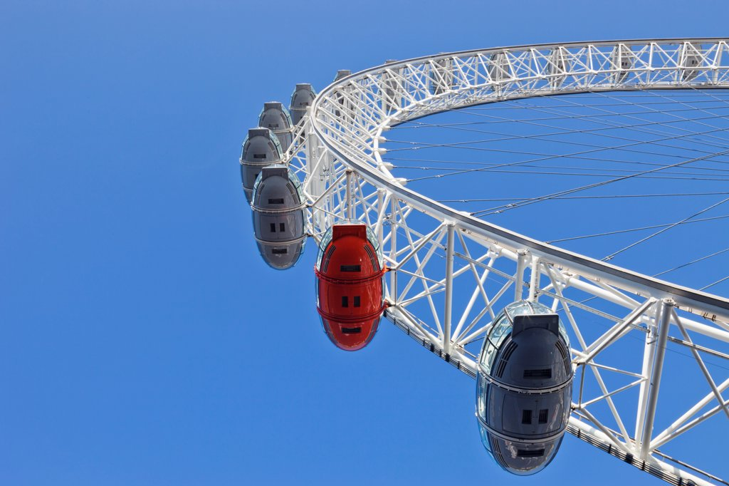 Stock Photo: 442-38329 UK, London, London Eye