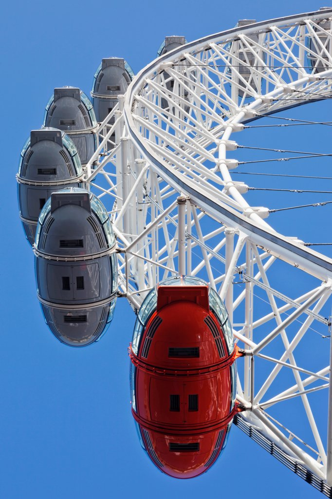 UK, London, London Eye : Stock Photo