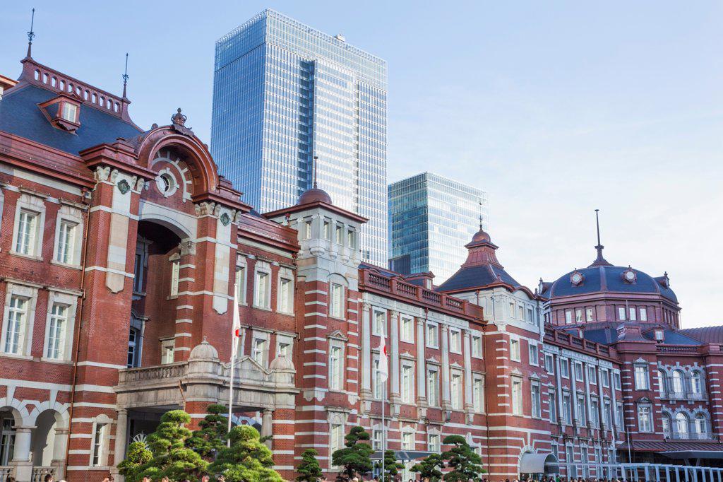 Japan, Honshu, Kanto, Tokyo, Tokyo Station : Stock Photo