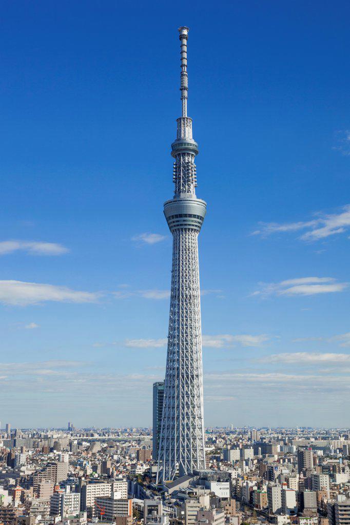 Stock Photo: 442-38689 Japan, Honshu, Kanto, Tokyo, Asakusa, Skytree Tower