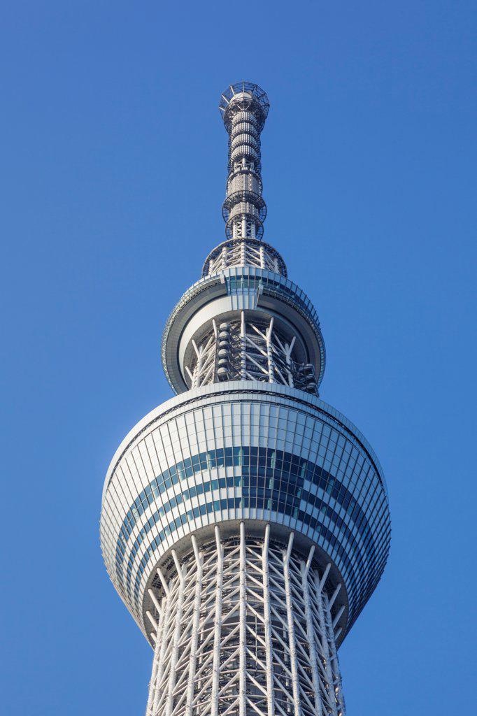 Stock Photo: 442-38693 Japan, Honshu, Kanto, Tokyo, Asakusa, Skytree Tower