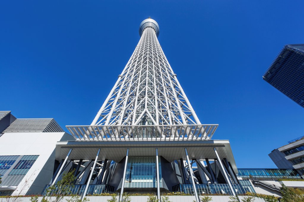 Stock Photo: 442-38701 Japan, Honshu, Kanto, Tokyo, Asakusa, Skytree Tower