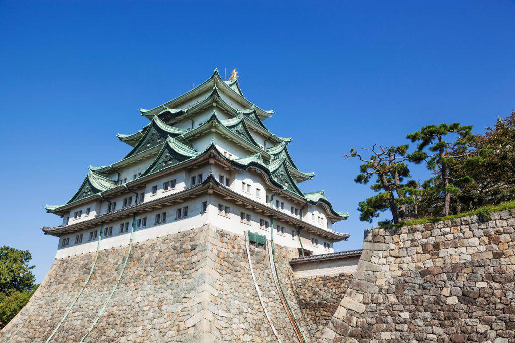 Stock Photo: 442-38814 Japan, Honshu, Aichi, Nagoya, Nagoya Castle