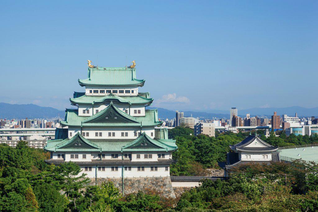 Stock Photo: 442-38819 Japan, Honshu, Aichi, Nagoya, Nagoya Castle