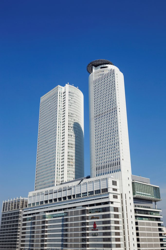 Stock Photo: 442-38832 Japan, Honshu, Aichi, Nagoya, JR Central Towers