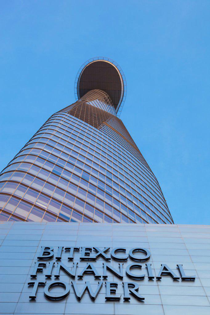 Vietnam, Ho Chi Minh City, Bitexco Financial Tower : Stock Photo