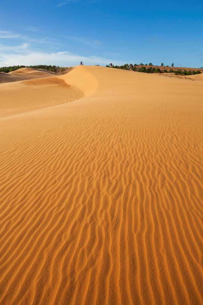 Stock Photo: 442-39113 Vietnam, Mui Ne, Sand Dunes