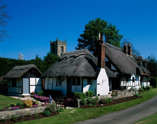 Stock Photo: 442-4186A Traditional House, Stratford-upon-Avon, England