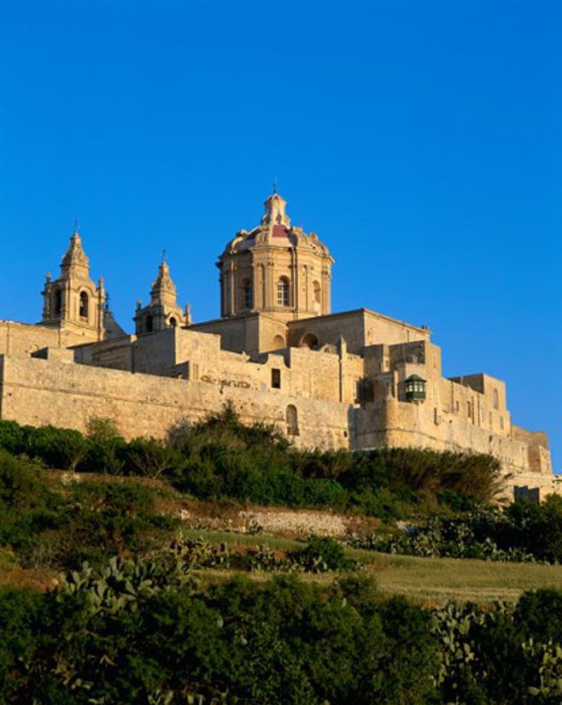 Stock Photo: 442-4411A Cathedral Museum, Mdina, Malta