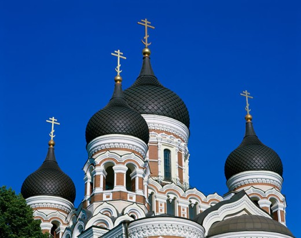 Stock Photo: 442-4455 Alexander Nevski Cathedral, Tallinn, Estonia