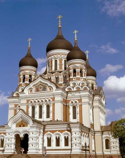 Stock Photo: 442-4457 Alexander Nevski Cathedral, Tallinn, Estonia