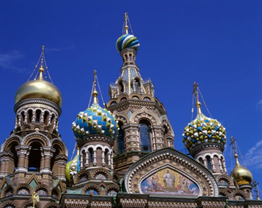Church of the Resurrection of Jesus Christ, St. Petersburg, Russia : Stock Photo