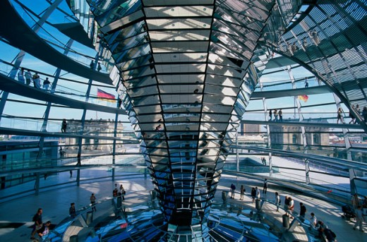 Stock Photo: 442-5043 Reichstag, Berlin, Germany
