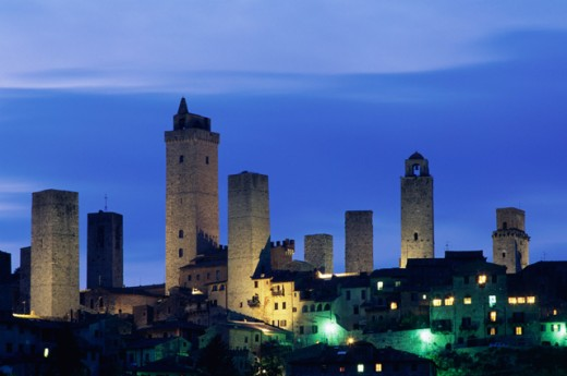 Stock Photo: 442-5435 San Gimignano