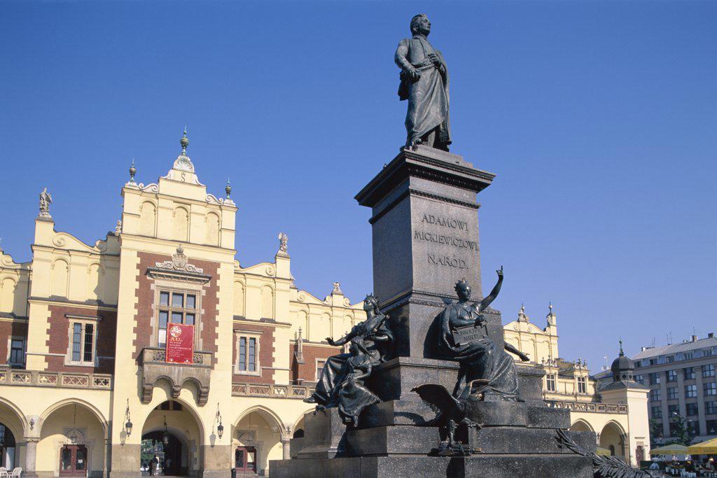 Stock Photo: 442-7688 Main Market Square, Wroclaw, Poland