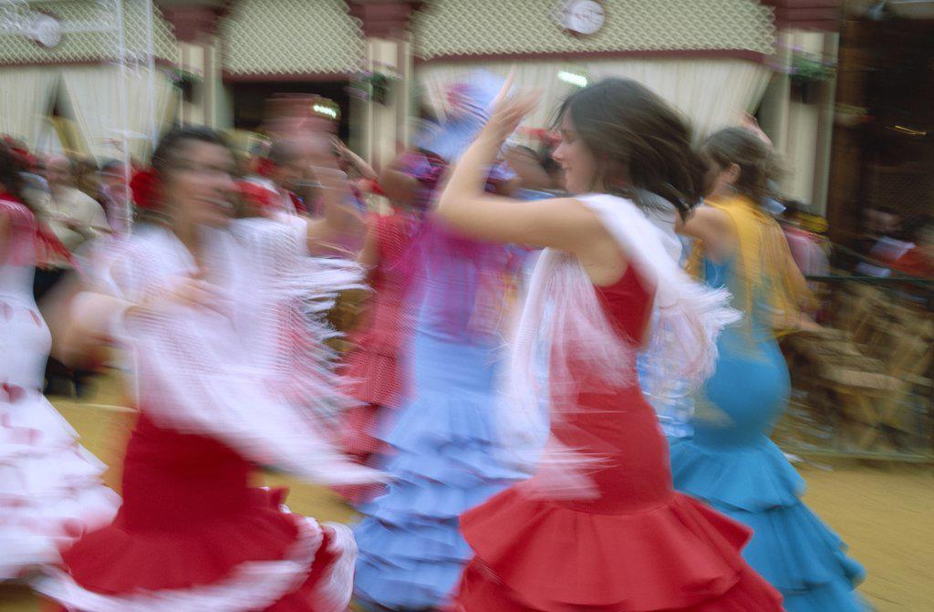 Flamenco Dance, Jerez de la Frontera, Andalusia, Spain : Stock Photo