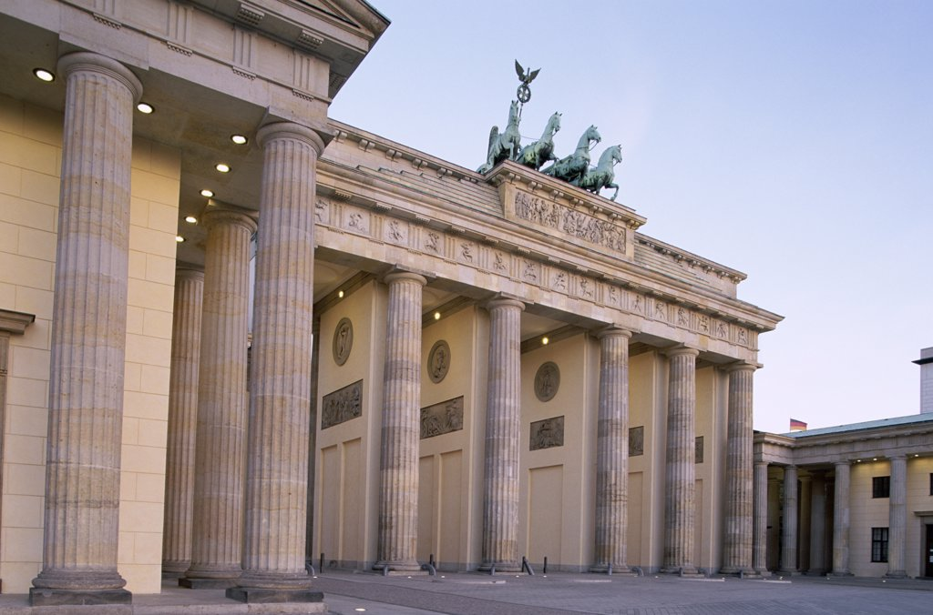 Stock Photo: 442-8743 Brandenburg Gate, Berlin, Germany