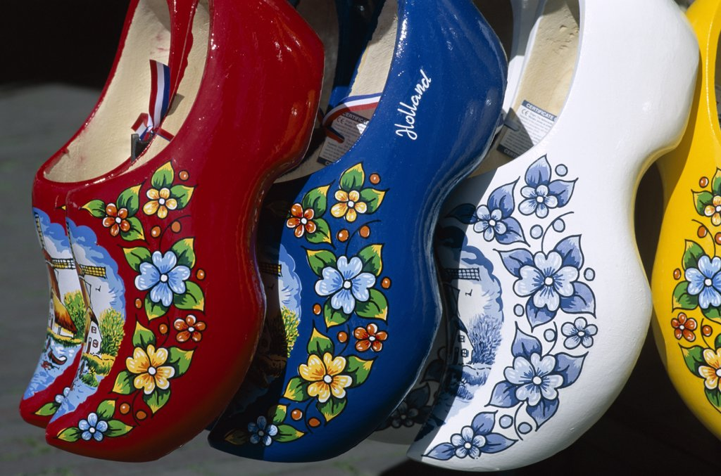 Clogs, Amsterdam, Netherlands : Stock Photo