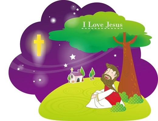 Stock Photo: 4422R-7101 Jesus Christ
