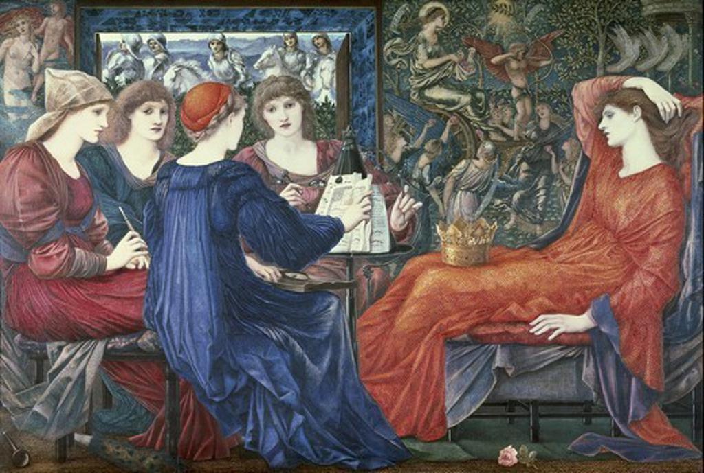 Stock Photo: 4435-2196 BURNE-JONES, Edward Coley (1833-1898). Laus Veneris. 1873-1875. Pre-Raphaelite art. Oil on canvas. UNITED KINGDOM. ENGLAND. NORTH EAST ENGLAND. Newcastle. Tyne and Wear Museums.