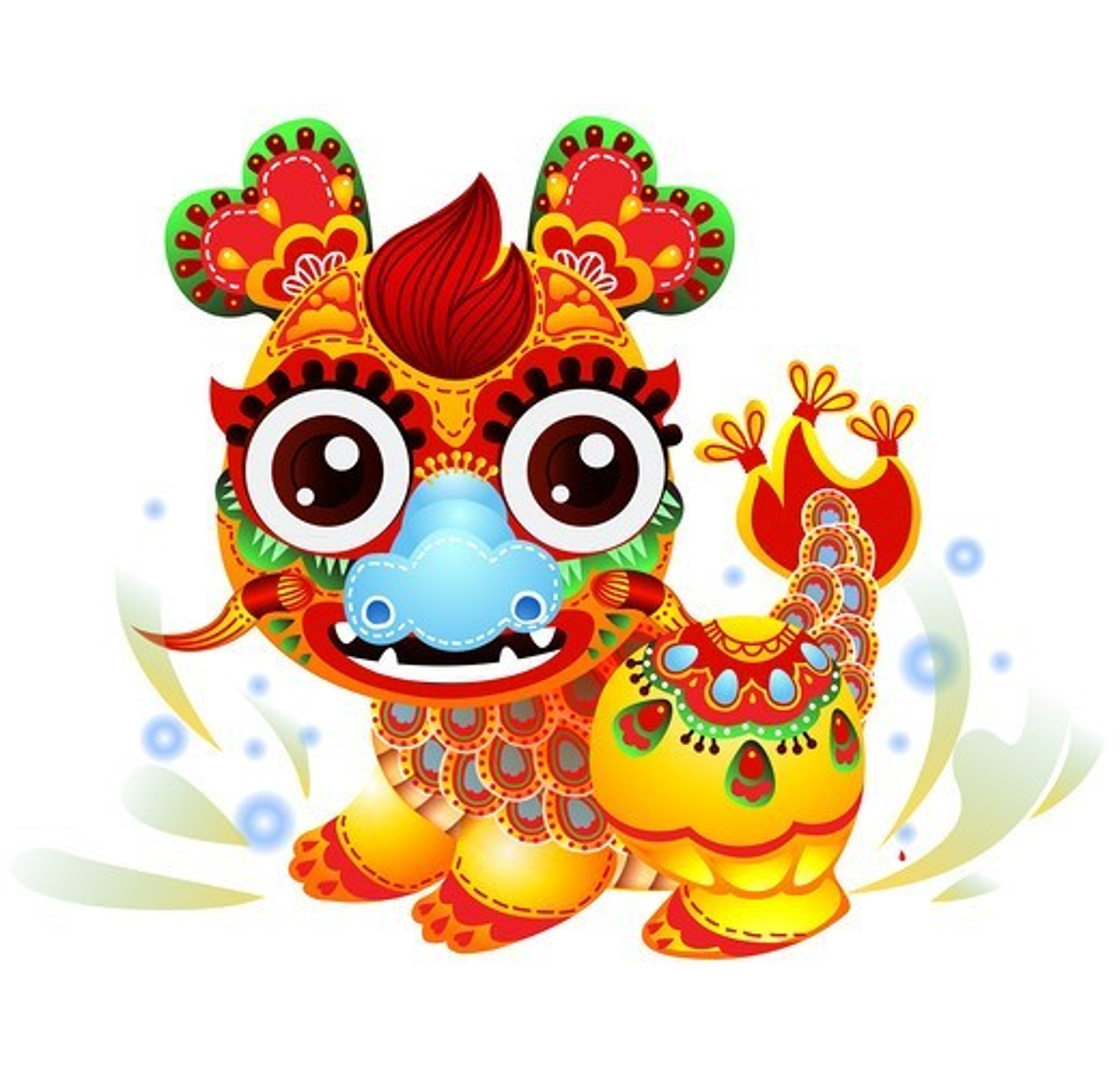 Stock Photo: 4445R-4032 Illustration of dragon