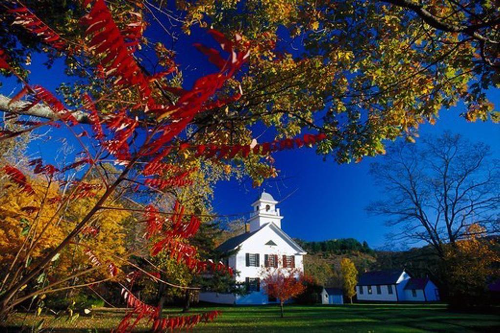 East Bethel, County Windsor, Vermont, USA : Stock Photo