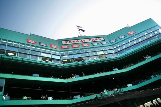 Stock Photo: 4449-19025 Fenway Park Baseball Stadium, Boston, Massachusetts, United States (USA)