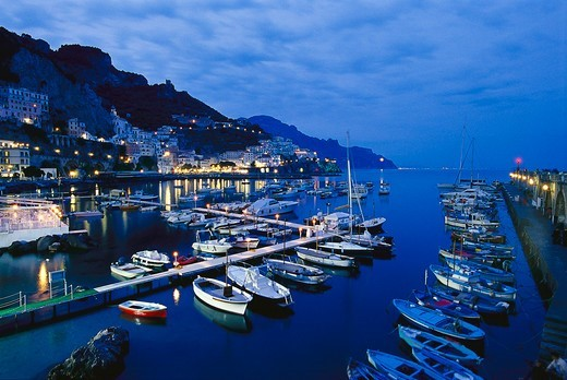 Stock Photo: 4449-6670 Amalfi, Campania, Italy