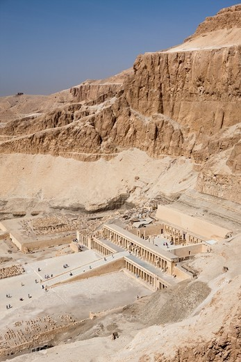 Stock Photo: 4449-83819 Queen Hatshepsut Temple, Luxor, Egypt