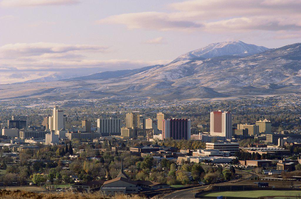 Stock Photo: 445-2076B Reno Nevada USA