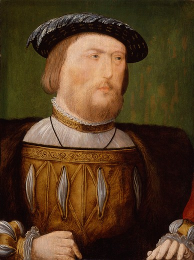 Unknown artist circa 1535-1540 painting oil on panel National Portrait Gallery, London : Stock Photo