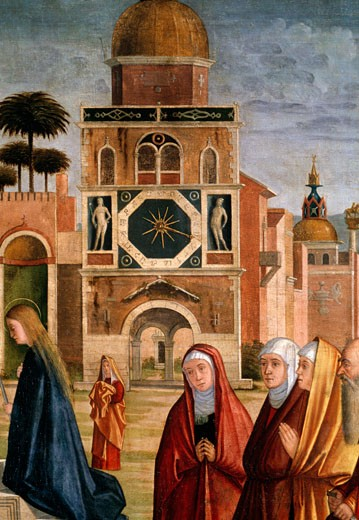 Stock Photo: 457-115 Presentation of Mary at the Temple (Detail)