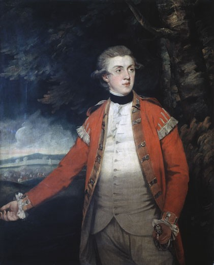 Stock Photo: 457-2063 Portrait Of Lord Donoughmore Joshua Reynolds (1723-1792 British) Pinacoteca di Brera, Milan, Italy