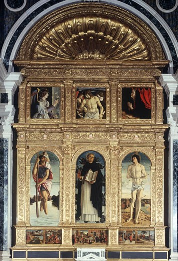 Polyptych Of St. Vincent Ferrer