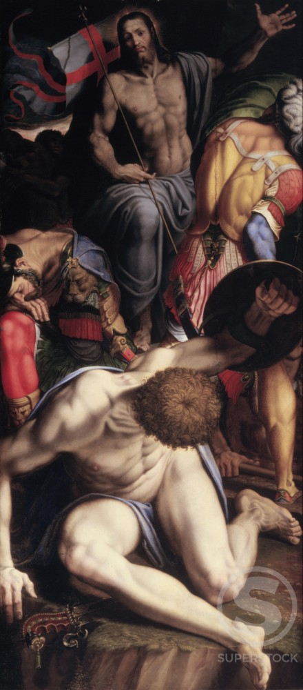 Stock Photo: 457-2214 Resurrection of Christ 