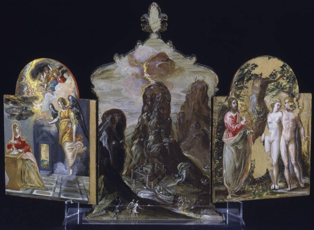 External Surface Of Portable Altarpiece