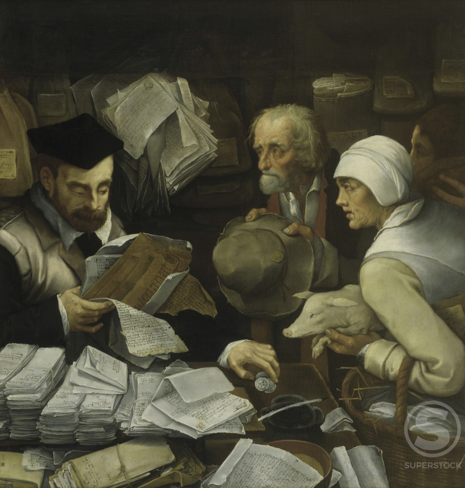 Stock Photo: 457-2233 Lawyer's Office