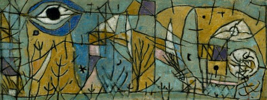 Turbato Paul Klee (1879-1940 Swiss) Pinacoteca Sabauda, Torino, Italy : Stock Photo