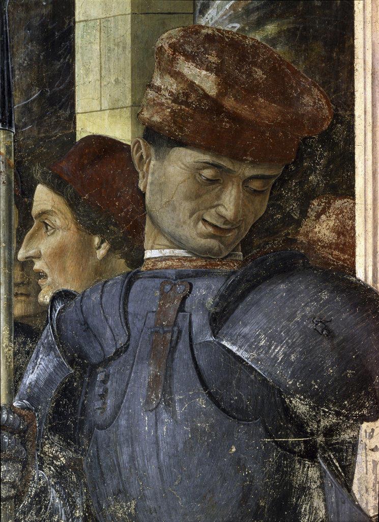 Martirio e trasporto di S.Cristoforo Andrea Mantegna (1431-1506 Italian) Pinacoteca Sabauda, Torino, Italy : Stock Photo