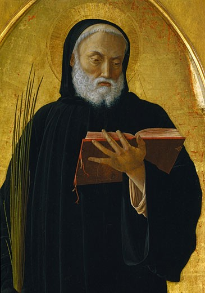 Stock Photo: 457-2495 Polittico di San Luca part Andrea Mantegna (1431-1506 Italian) Pinacoteca Sabauda, Torino, Italy