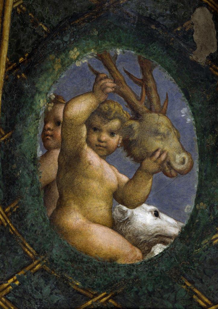 Stock Photo: 457-2502 Putti Correggio (1489 94-1534 Italian) Pinacoteca Sabauda, Torino, Italy