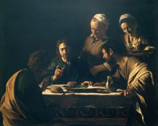 Stock Photo: 457-515 Supper at Emmaus
