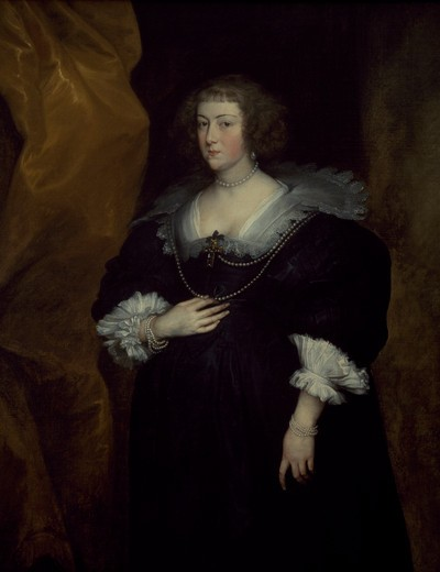 Stock Photo: 457-546 Portrait of Amelia Solms by Anthony van Dyck, oil on canvas, 1634-35, 1599-1641, Italy, Milan, Pinacoteca Di Brera